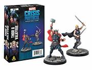 Marvel Crisis Protocol Thor And Valkyrie Cp11 - English