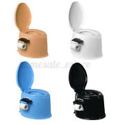 Portable Toilet Seat Flush Camping Commode Potty Travel Outdoor Indoor Home