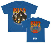 Kiss Band Creatures Of The Night Anniversary Stanley Simmons Carr T Shirt