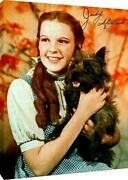 Canvas Wall Art Judy Garland Autograph Print - Dorthy In The Wizard Of Oz