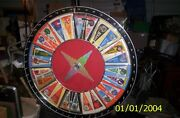 Carnival Game Spinning Wheel 42andrdquo Diameter Game Of Chance With Base 24 Pennants
