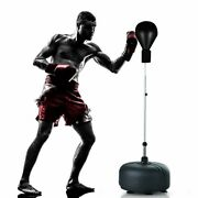 Boxing Punching Bag With Stand For Adults + Teenagers Freestanding Speed Bags