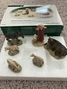 Dept 56 Christmas The Good Shepherd And His Animals The Little Town Of Bethlehem
