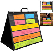 Pdx Reading Specialist Multipurpose Table Top Pocket Chart | Desk Wall Classro