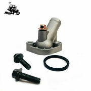 V-twin Aluminum Thermostat Outlet Cover For Can-am Renegade Outlander Utv Parts