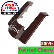 Twisted Cherry Dual Uncut Stretched Rear Fender Extension For 09+ Harley Touring