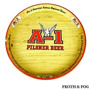 A-1 Pilsner Beer Tray Man Cave One Of America's Famous Regional Beers Ale Porter