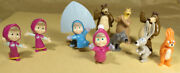 Kinder Surprise Masha And The Bear 1 2013 Tr157-tr166 Rare First Edition
