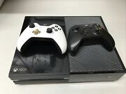 Xbox One Model 1540 - 500gb Black Console With Controllers No Cable