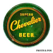 Chevalier Beer Tray Man Cave Beers And Ale Vtg Collectible Made Usa Porter Drink
