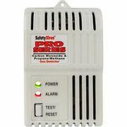 Safety Siren Pro3 Hs80504 Co/gas Detector Alarm, 120v, Direct Plug-in