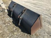Ford New Holland Tractor Loader Backhoe Bucket Stock 35732
