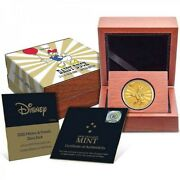 Mickey And Friends Daisy Duck Carnival 1/4 Oz Gold 2020