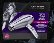 Conair Infinitipro By Conair Pro Performance Frizz Free Hair Dryer, Silver New