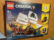 Lego 31109 Pirate Ship 3 In 1 Creator Set New In Box Factory Sealed