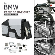 For 2004-2019 Bmw R1200gs Lc Adventure R1250gs Adv Waterproof Stainless Tool Box