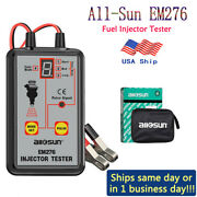 Fuel Injector Tester Automotive Car Injector Cleaner Controler 4 Pluse Modes 12v