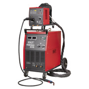 Sealey Prof Mig Welder 350a 415v 3ph Euro Torch-portable Wire Drive