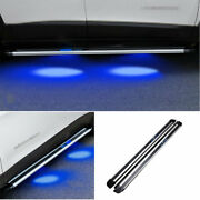 For Jeep Cherokee 2014-2019 2021 Black Side Step Running Board Nerf Bar Protect