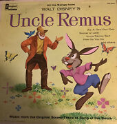 1960s Walt Disney - Uncle Remus -music From Song Of The South Lp Record