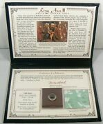Ancient Silver Coin King Azes Ii - Postal Commemorative Society