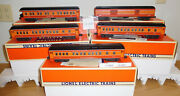 Lionel 19019 23 To 26 Southern Pacific Madison Passenger 5 Car Set Train O Scale