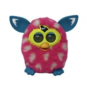Hasbro Furby Boom Polka Dot Pink And White 2012 Interactive Toy Tested And Working