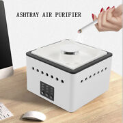 Smokeless Ashtray Air Purifier Carbon Filter Absorbs Smoke Odor Low Noise Hot Us