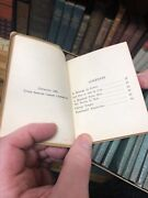 Antique 'the Little Leather Library' 103 Books In The Collection, Published 1929