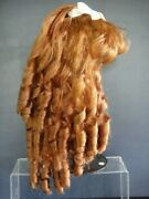 Human Hair Wig For Doll - Head 19.5 49.5 Cm For Antique, Vintage, Repro Dolls