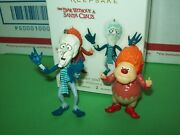 Hallmark Heat Miser And Snow Miser The Year Without A Santa Claus 2012 Ornaments