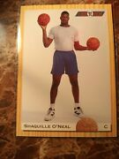 Shaquille O'neal Rookie Card 92 Classic. Orlando Magic Went For 5k Last Week