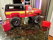 Vintage Mighty Tonka 4x4 Truck Mr-970 Red