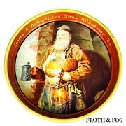 Louis F Neuweiler's Son Beer Tray Man Cave Beers Ale Vtg Collectible Made In Usa