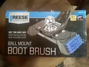 Reese Towpower 7074100 Ball Mount Boot Brush With Scraper No Drill New In Box