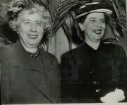 1950 Press Photo Mrs. Harry S. Truman And Mrs. Alben W. Barkley, Luncheon Guests