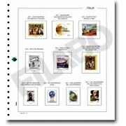Filabo Hojas Of Photograph Albums Stamps Italy 1991-1993 Mounted With Protectors