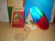 Vintage Holly-time Christmas Tree Color Wheel W/box And Instructions Works