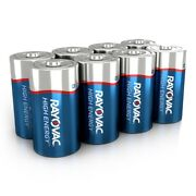 105 Rayovac Alkaline D Cell Batteries Free Ups Shipping