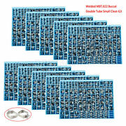 1-10 Dental Orthodontic Buccal Tube 1st Molar Bands Dbl Conv Mbt+small Cleat G3