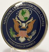 National Counterterrorism Operations Center Nctc Cia Fbi Dni Dh S Challenge Coin