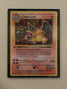 1st Edition Charizard Jumbo Double Sided Card Framed In Stock