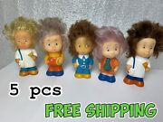 5 Pcs Toys - Vintage Childand039s Rubber Dunno Doctor Baby Doll Child Boy Ussr 15