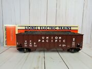 Union Pacific Three-bay Hopper With Coal Load Lionel Electric Trains 6-17110