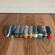 Set Of 10 Small Trains Epoch Bullet Train Limited Express