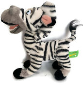 Russ Madagascar Marty The Zebra Plush 10stuffed Hard To Find New With Tags