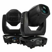 Led Beam Spot Wash 200w Moving Head Light Zoom Function 18 Channels Dmx Effects