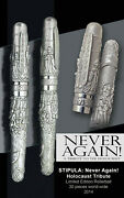 New Stipula Never Again Limited Edition Rollerball - Only 30 Pieces Were Made