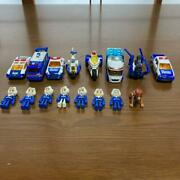 Tomica Hyper Series Blue Police Members Dog Vehicles