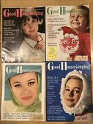 Lot Of 4 1963 Good Housekeeping Vintage Magazines Mar July Oct Dec Christmas Ads